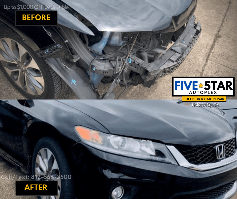 Fort Worth Auto Body Repair on car