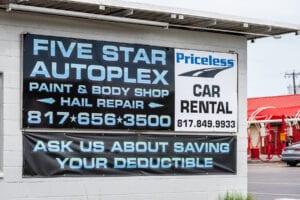 Fort Worth Auto Body Repair- Five Star Autoplex