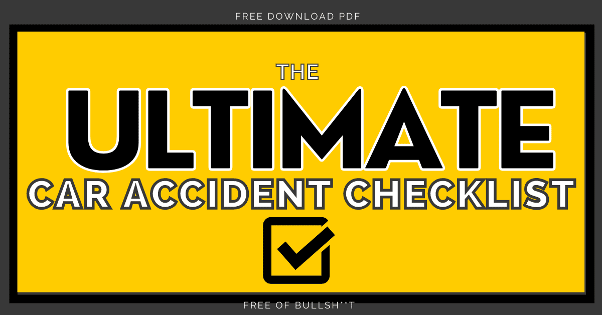 auto body repair fort worth tx blog 1- car accident checklist feature image
