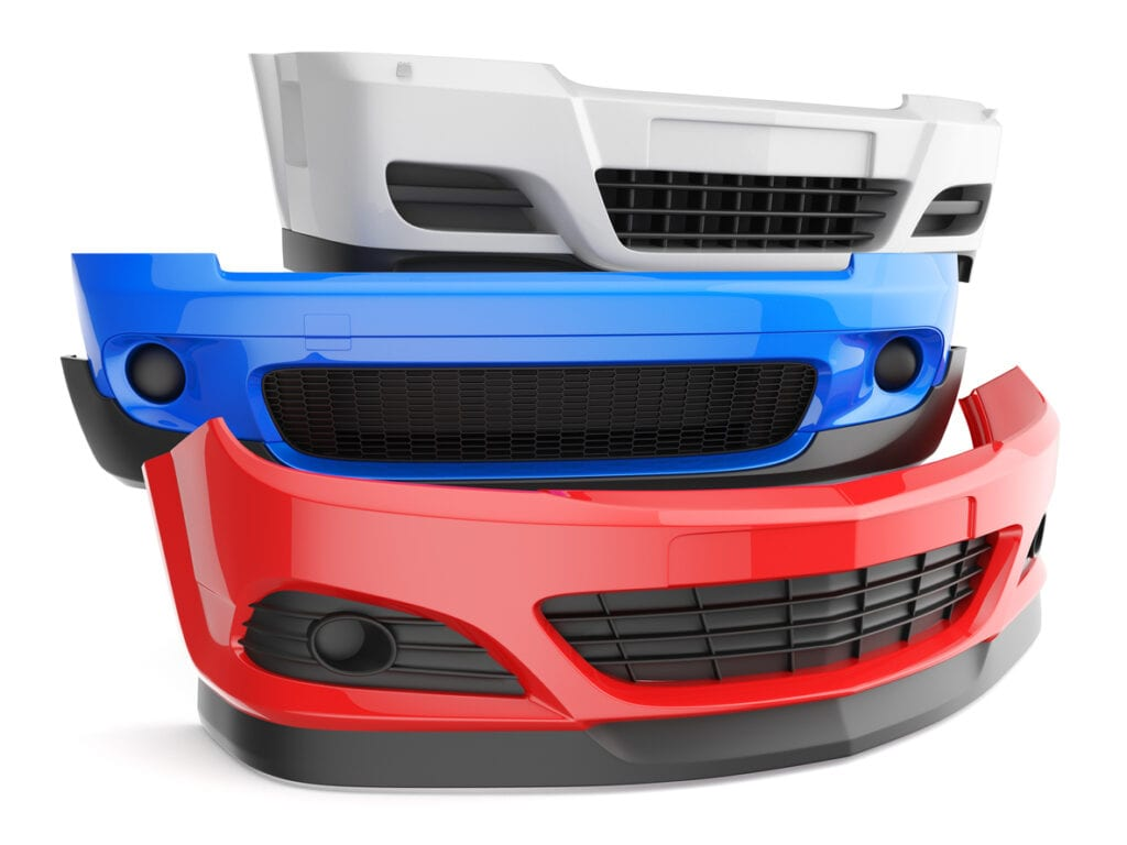 Front bumper repair-collision repair Fort Worth Texas